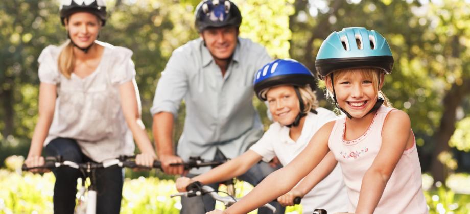 Fahrradfahren in und um Geldern (Familie auf Rädern)